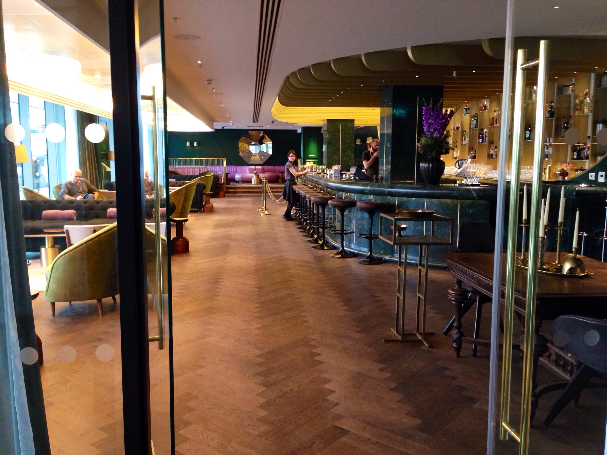 Rumpus Room At The Mondrian London Flores Em Notting Hill