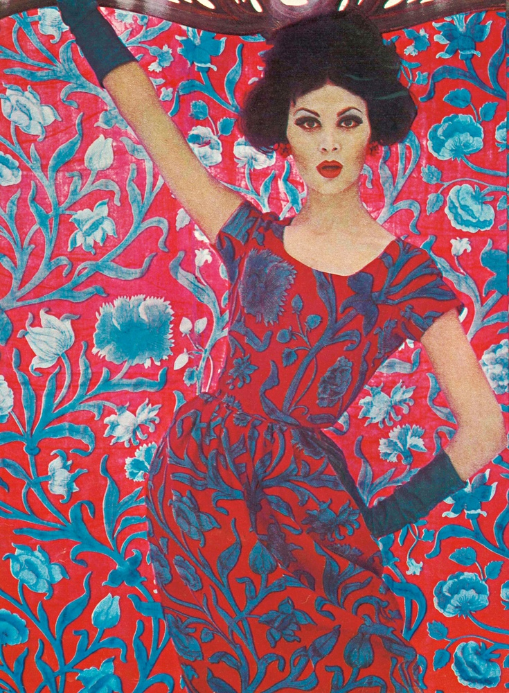 Liberty constantia print 1961 fashion