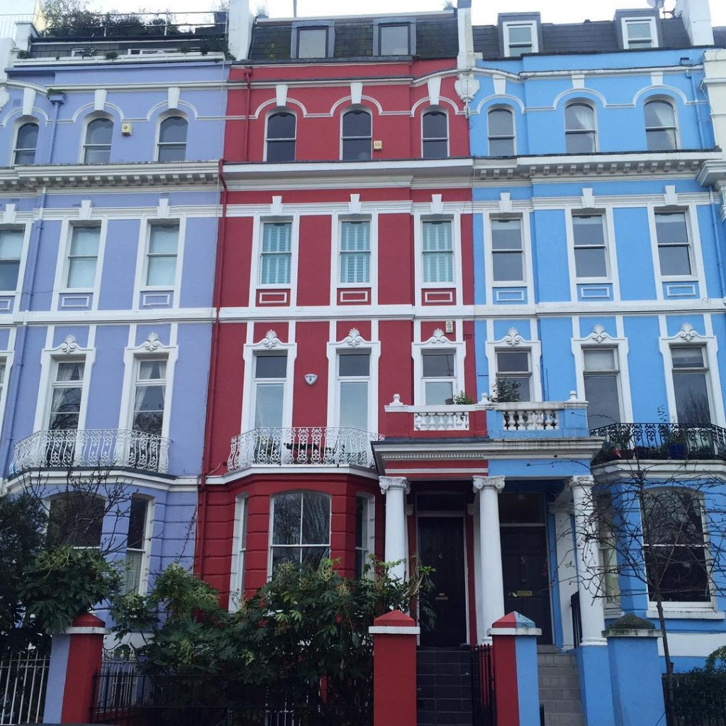 O céu de Notting Hill é sempre assim ❤️  Notting Hill's Sky.. #floresemnottinghill #nottinghill
