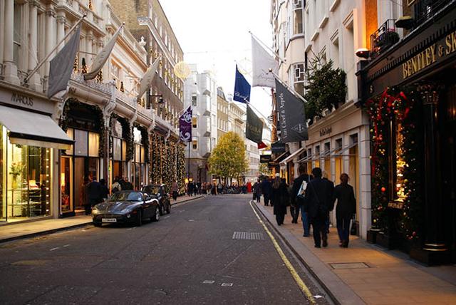 Bond Street (el carrer de les millors marques)